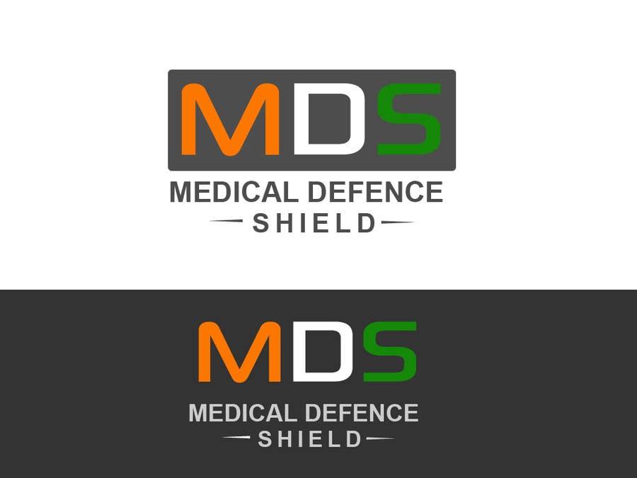 Inscrição nº                                         182                                      do Concurso para                                         Design a new Flat Logo for Medical Defence organisation
