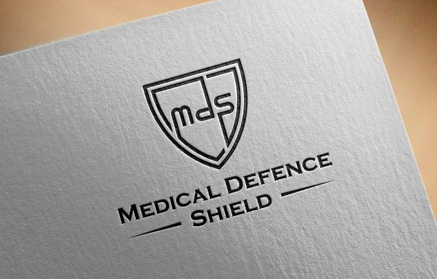 Inscrição nº                                         185                                      do Concurso para                                         Design a new Flat Logo for Medical Defence organisation
