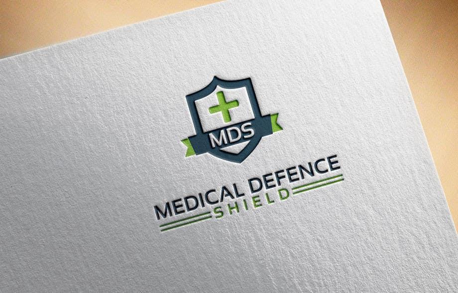 Inscrição nº                                         134                                      do Concurso para                                         Design a new Flat Logo for Medical Defence organisation