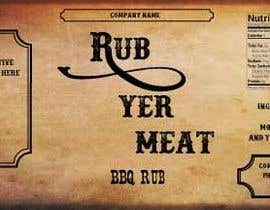 #16 untuk Create Print and Packaging Designs for BBQ Rub Labels oleh shanonfischer