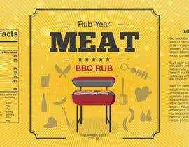 #35 for Create Print and Packaging Designs for BBQ Rub Labels by skanone