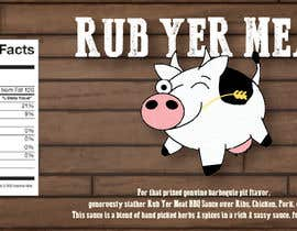 #3 untuk Create Print and Packaging Designs for BBQ Rub Labels oleh daniellemerie8