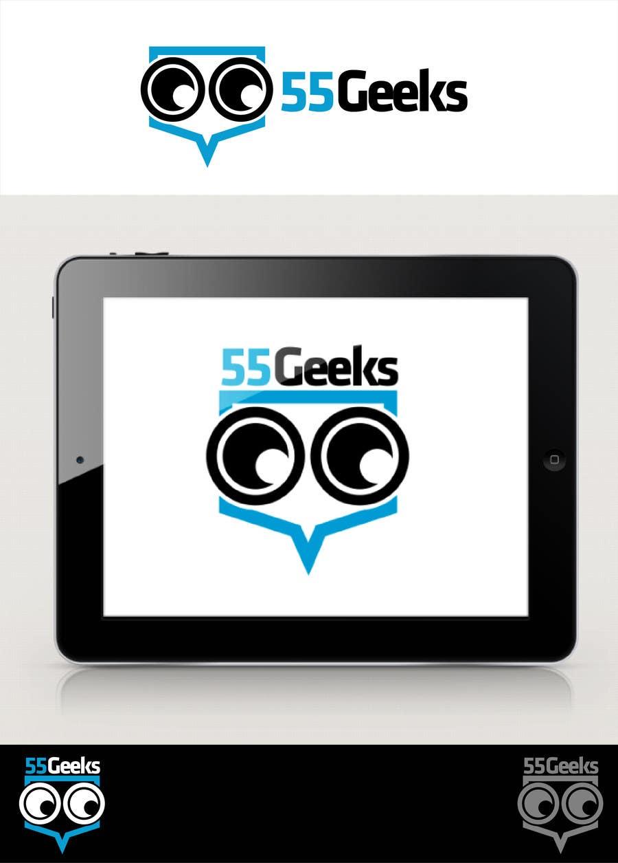 Proposition n°16 du concours 55 Geeks logo design