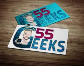 nº 34 pour 55 Geeks logo design par mkrabderrahim