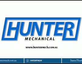 #23 for Design some Business Cards for hunter mechanical af ayishascorpio