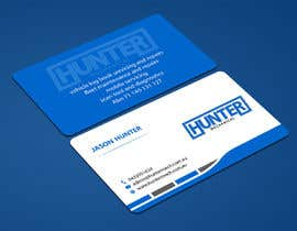 #56 for Design some Business Cards for hunter mechanical by ALLHAJJ17