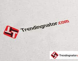 #275 untuk Re-design a Logo for Trendingnator.com oleh riponrs