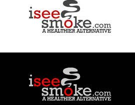 #44 para Design a Logo for  'I see smoke' por ashtek