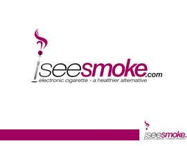 #84 para Design a Logo for  'I see smoke' por xcerlow