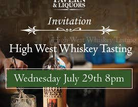 #18 cho Design a Flyer for High West Whiskey Tasting bởi jassna