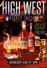 Graphic Design Konkurrenceindlæg #32 for Design a Flyer for High West Whiskey Tasting