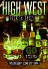 Graphic Design Konkurrenceindlæg #33 for Design a Flyer for High West Whiskey Tasting