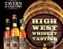 #27 cho Design a Flyer for High West Whiskey Tasting bởi gkhaus