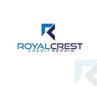 #26 untuk Design a Logo for ROYAL CREST CREDIT REPAIR oleh alyymomin
