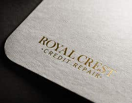 #33 untuk Design a Logo for ROYAL CREST CREDIT REPAIR oleh webexpo