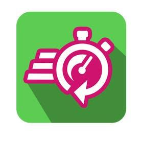#18 untuk Diseñar un logotipo para aplicación móvil de entrega de productos y servicios a domicilio oleh albertosemprun