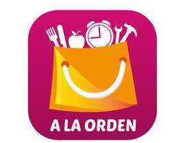 #12 untuk Diseñar un logotipo para aplicación móvil de entrega de productos y servicios a domicilio oleh MiguelEnriquez17