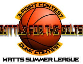 #2 for Design a Logo for A BASKETBALL 3-POINT & DUNK CONTEST EVENT af abhartshorn87