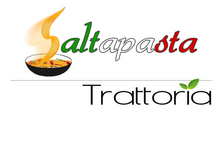 #35 for Design a Logo for Saltapasta by DachmanLucian