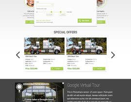#26 untuk Design a Website Mockup for A Vehicle Dealership oleh nikolamiletic1