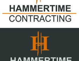 #66 para Design a Logo for Hammertime Contracting por tanulmohod
