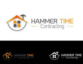 #24 para Design a Logo for Hammertime Contracting por farhanzaidisyed