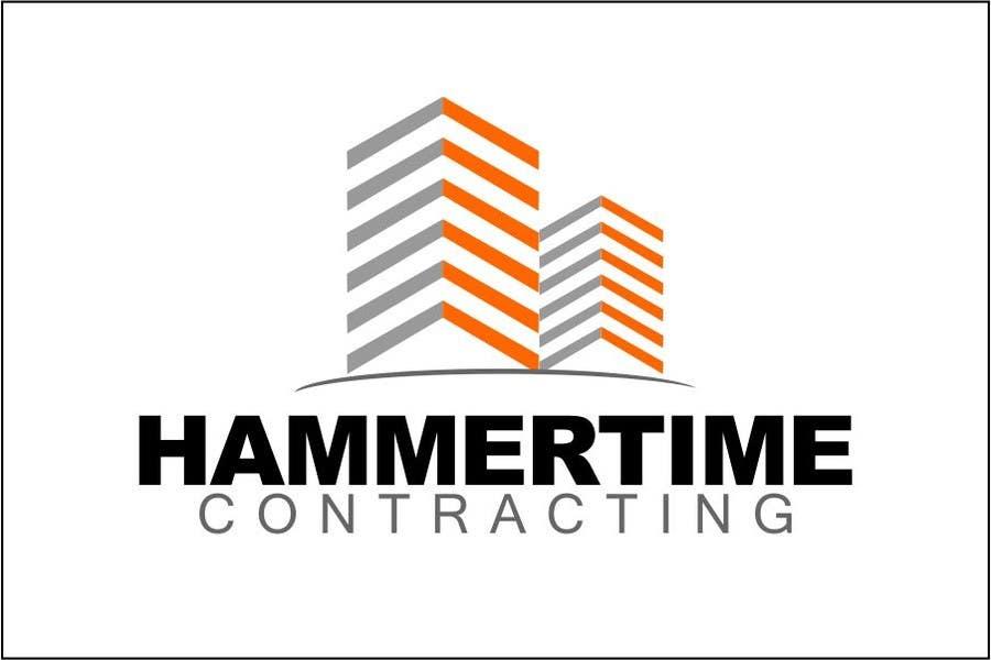 Inscrição nº 10 do Concurso para Design a Logo for Hammertime Contracting