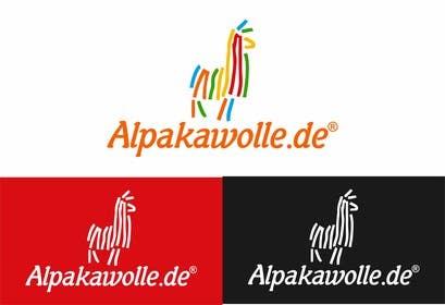 #22 untuk Alpakawolle.de Logo (Alpaca Yarn) oleh jayantiwork