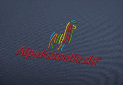 #24 untuk Alpakawolle.de Logo (Alpaca Yarn) oleh jayantiwork
