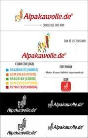 #25 untuk Alpakawolle.de Logo (Alpaca Yarn) oleh jayantiwork
