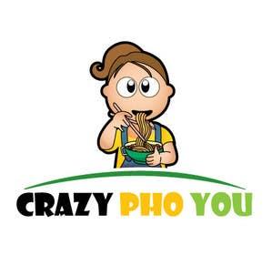 #19 untuk Design a Logo for Crazy Pho You oleh mogado