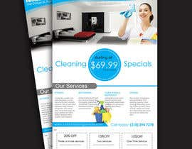 #10 for flyers for ruston cleaning services by dgnGuru
