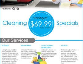 #12 cho flyers for ruston cleaning services bởi dgnGuru