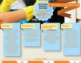 #14 cho flyers for ruston cleaning services bởi amirakarmila