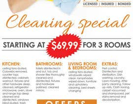 #4 for flyers for ruston cleaning services by mastasoftware