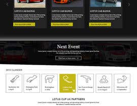 #35 untuk Design a Website for Car Racing Team oleh webgraphics007