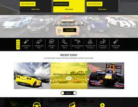 #38 untuk Design a Website for Car Racing Team oleh pixelnpixel