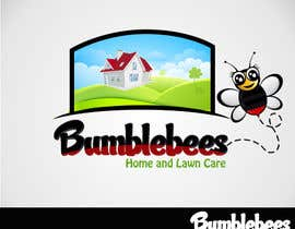 Saadyarkhalid tarafından Design a Logo for Bumblebees Lawn & Home Care Services LLC için no 70