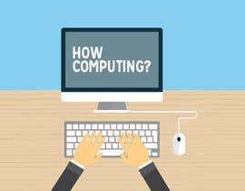 ahemmm691 tarafından Design a Logo for How Computing? için no 5