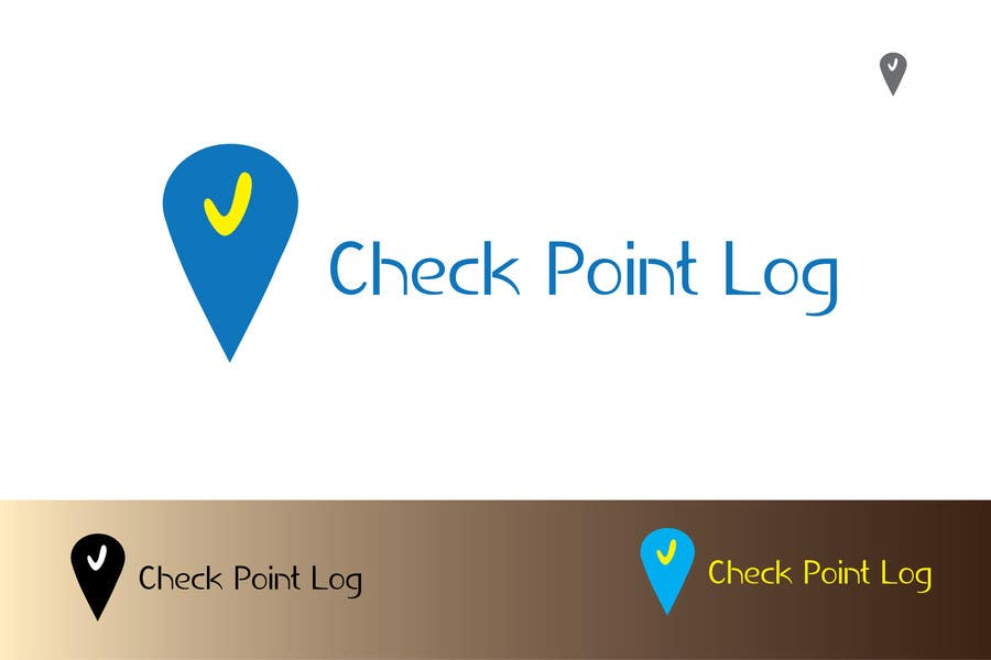 #12 for Design a Logo for Check Point Log mobile app by dragosbali
