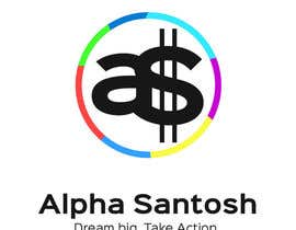 FirgunDesign tarafından Design a Logo for Alpha Santosh youtube channel için no 32