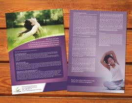 #17 cho Design a Flyer for our wellness programs bởi barinix