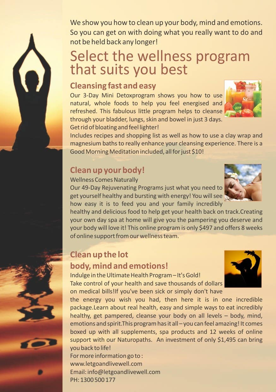Bài tham dự cuộc thi #                                        1                                      cho                                         Design a Flyer for our wellness programs