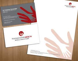 #13 untuk Design a letterhead and business cards for a health consulting company oleh teAmGrafic