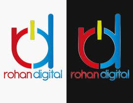 #232 for Design a Logo for a company - Rohan Digital by DigiMonkey