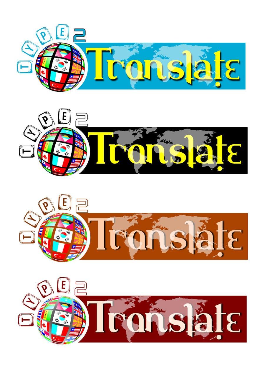 Bài tham dự cuộc thi #                                        52                                      cho                                         Design a Logo for www.type2translate.com