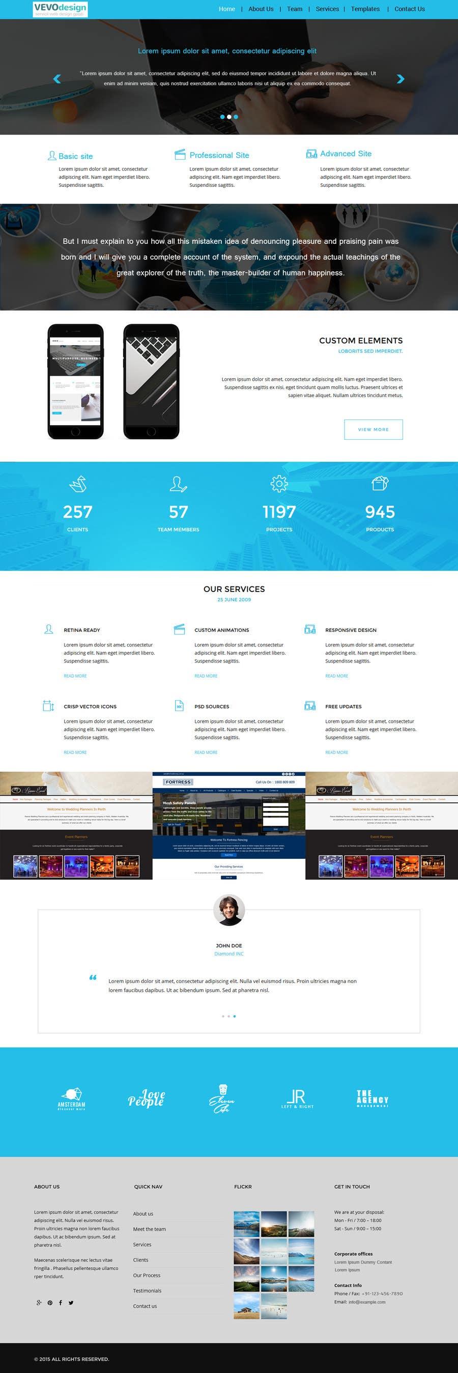Bài tham dự cuộc thi #3 cho Branding + html for vevodesign.ro