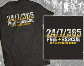 #53 untuk Design a T-Shirt for FireFashion (firefighter theme) oleh milanlazic
