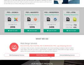 #2 for Redesign of Website 2 Pages. Attractive eye catch layouts required af Hardiq108