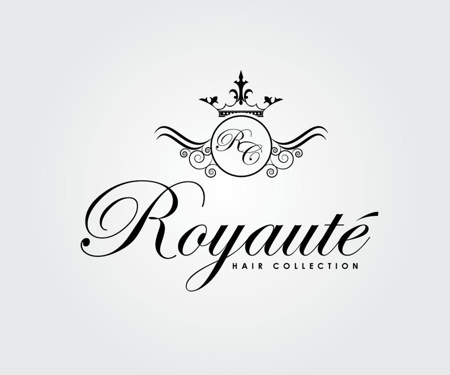 Penyertaan Peraduan #11 untuk Design a Logo for Royaute Hair Collection